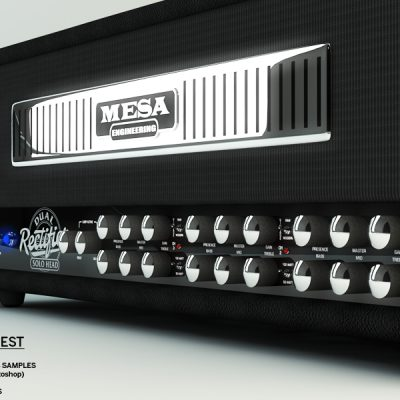 Generated 3D Models for Mesa Boogie during a bid to take on part of a magazine advertising project. I used Cinema 4D to build these and added texture and lighting to complete the final output.