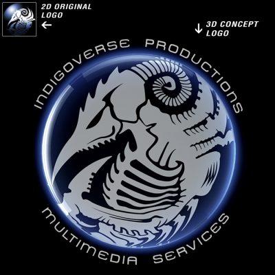 3D Logo Render