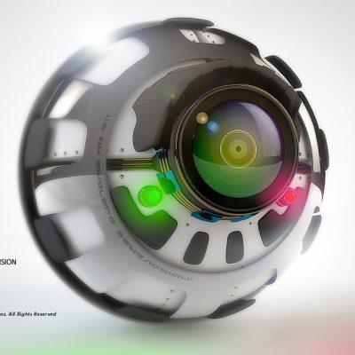 Robo Eye Render