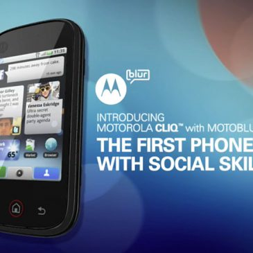 Motorola – Motoblur Campaign